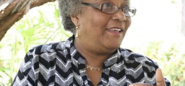 Décès de Jeanne Marie Yolène Vaval Suréna, la première Directrice de la Protection Civile haïtienne.-