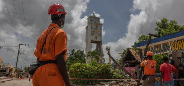 Seisme du 14 Aout 2021: Rapport d'étape du Centre d'opérations d'urgence national